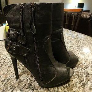 Just Fab open toe heels